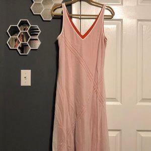 Banana Republic Silk Maxi Dress Size 12